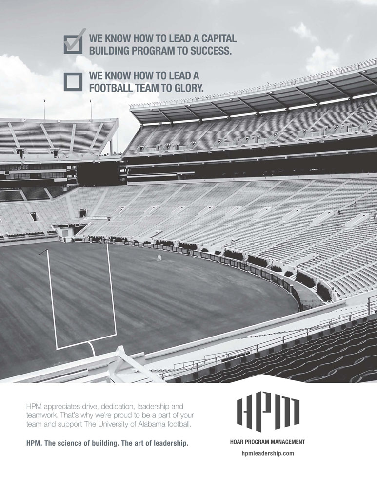 HPM ad in the UA football program